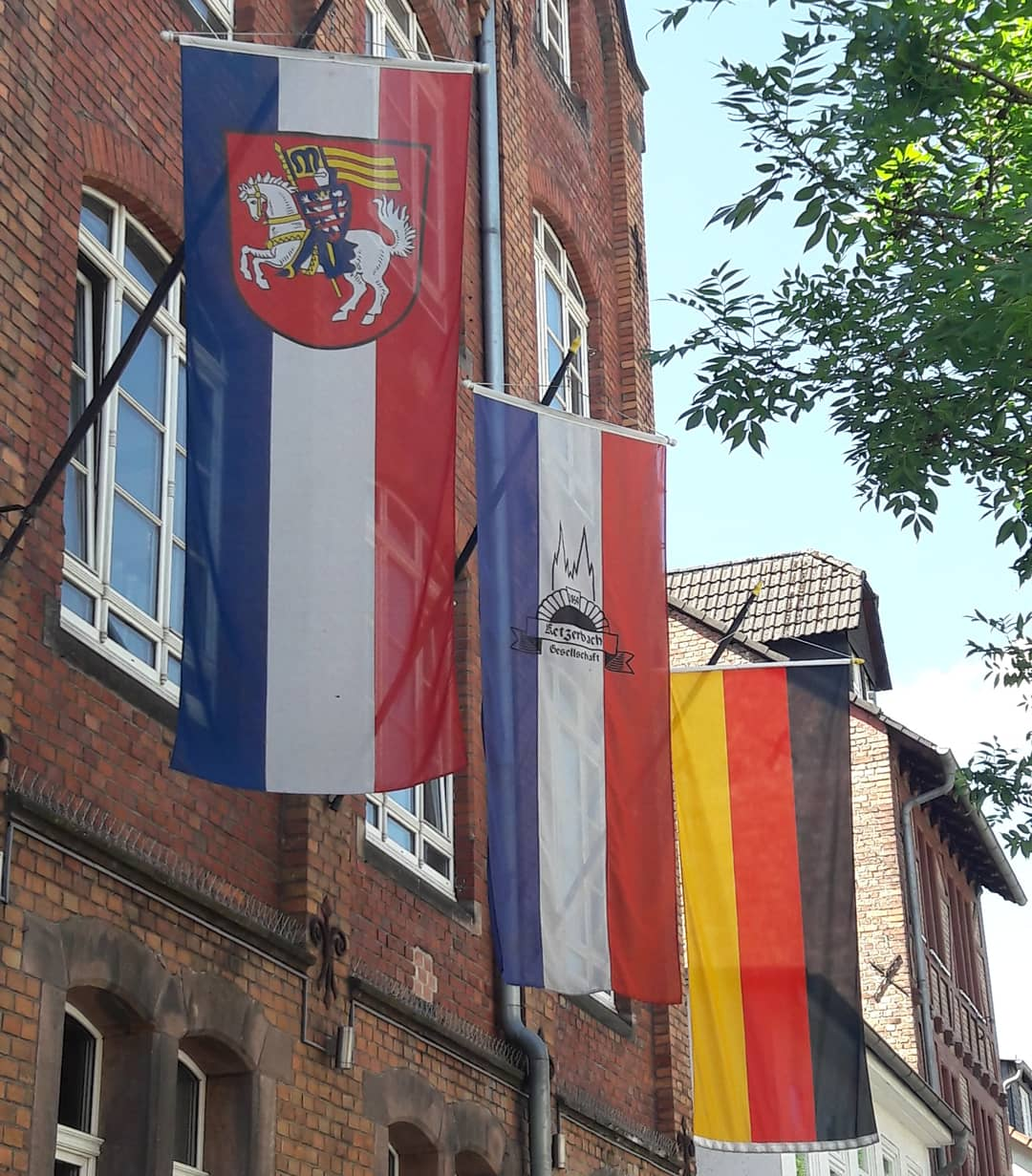 Ketzerbach ist geschmückt auch ohne Fest 2021